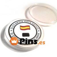 Monedas personalizadas con colores